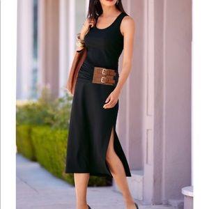 Boston Proper belted tank dress